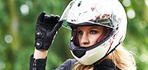 Casques Moto Femme