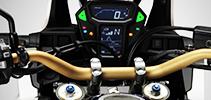 Equipement Moto poste de pilotage