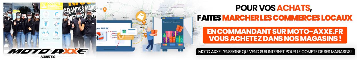 Moto Axxe favorise ses commerces locaux